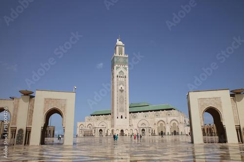 Hassan II Mosque in Casablanca Poster