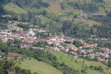 Panorámica del casco urbano. Titiribí, Antioquia, Colombia.