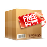 Free Shipping Cardboard Box - 155021014