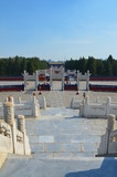 The Yuanqiu circular altar at the Temple of Heaven, Beijing China