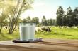 fresh milk  - 155054066