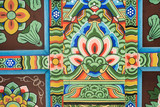 colourful korean pattern