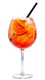 glass of aperol spritz cocktail - 155110868
