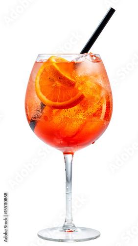 kieliszek koktajlu spritz aperol