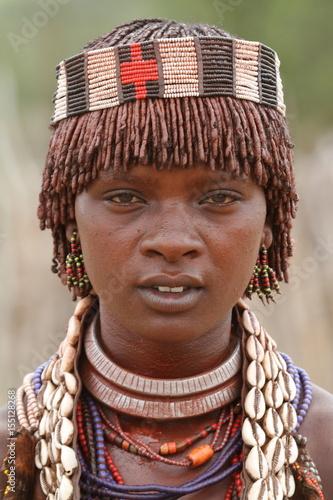 Volksstamm der Hamar im Omo Valley von Äthiopien