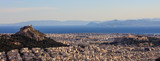 Athens, Greece - Panoramic view of Acropolis and Lycabettus - 155151655