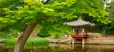 Changdeokgung Palace Secret Garden in Spring, in Seoul, South Korea, Asia