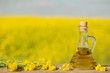 rapeseed oil (canola) in rape field