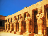Karnak Temple, Hall of caryatids. Luxor, Egypt