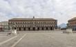 Quadro naples royal palace in plebiscito square