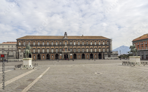Plexiglas Napels naples royal palace in plebiscito square