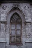 Old Gothic lancet window