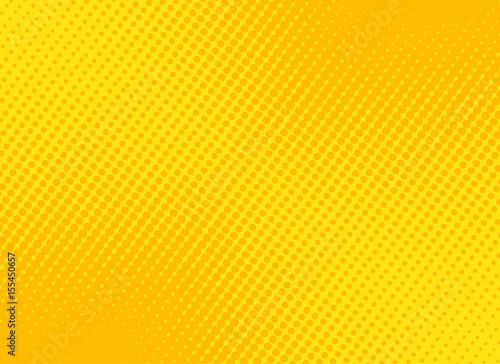 retro comic yellow background raster gradient halftone, stock vector illustration eps 10 - 155450657