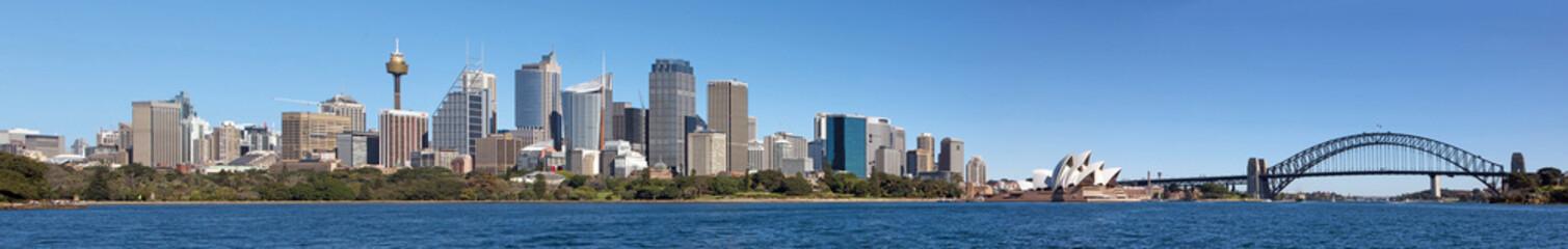 Panorama of skyline Sydney Australia