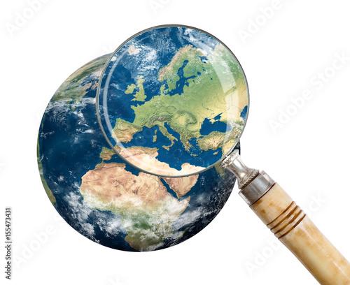 Plexiglas Focus on Europe
