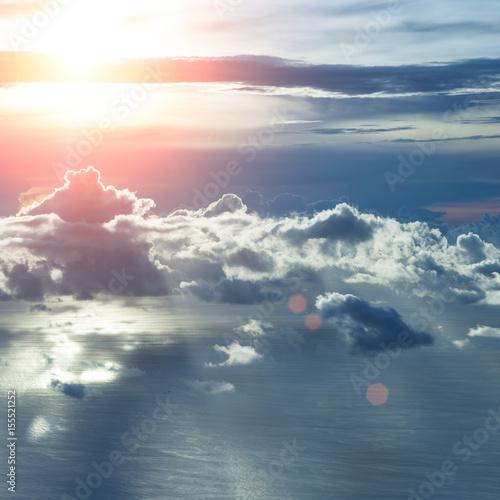 Beautiful blue sky - 155521252