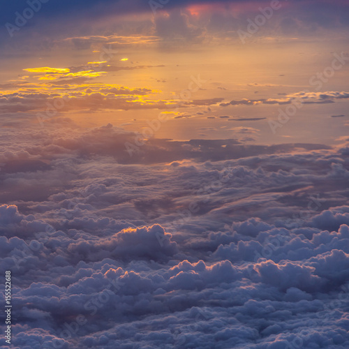 Beautiful blue sky - 155522688