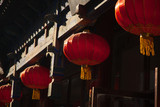 Chinese street in traditional old style
