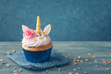 Unicorn cupcake - 155571883