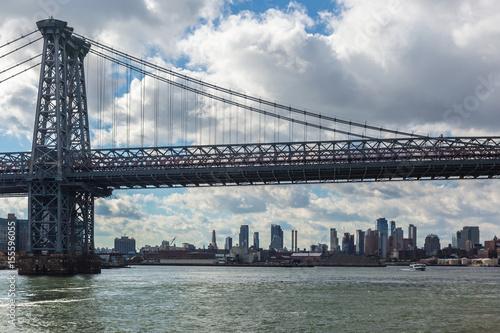Sticker Williamsburg bridge New York