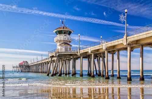 The Huntington Beach Pier Poster