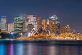 Fototapety Downtown Sydney skyline