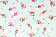 floral fabric pattern background - 155729842