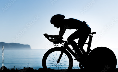 Triathletin Silhouette