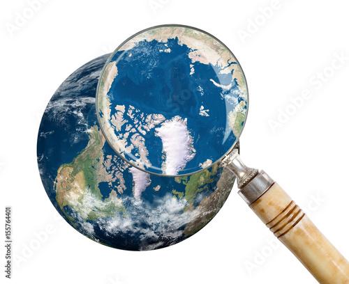 Plexiglas Focus on Arctic - North Pole