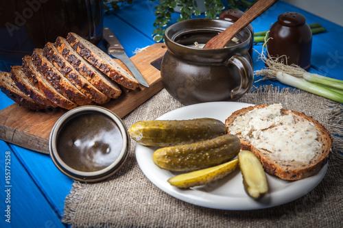 rebanada-de-pan-con-manteca-casera