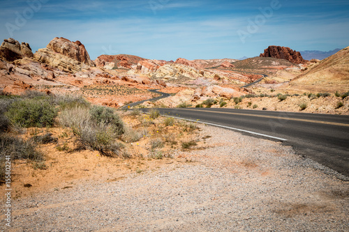 Valley of Fire Winding Road Poster
