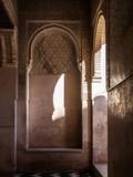 Detail of a window of Alhambra, Granada, Spain
