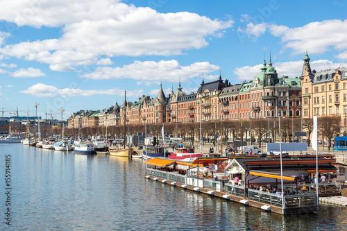 Fotobehang Stockholm Gamla Stan in Stockholm