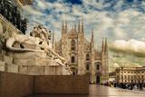 Duomo w Mediolanie, Włochy