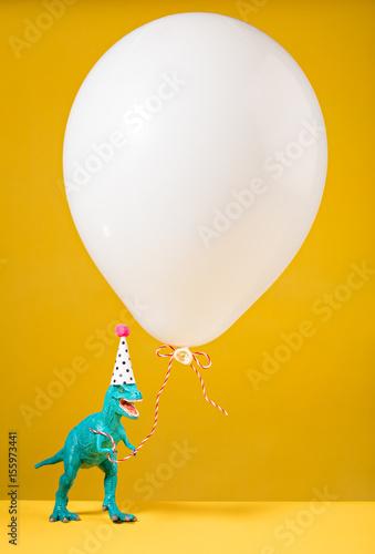Plagát Birthday Dinosaur