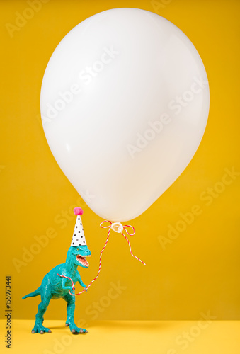 Poster Birthday Dinosaur