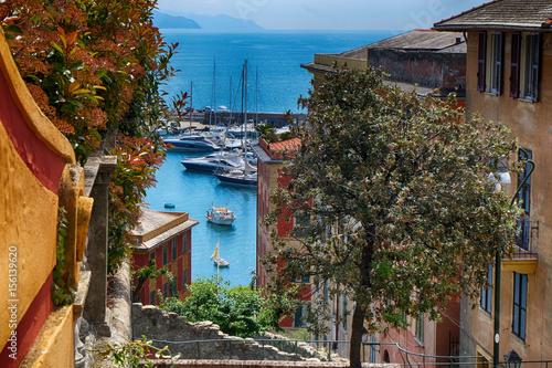 Foto op Plexiglas Liguria skyline santa margherita ligure