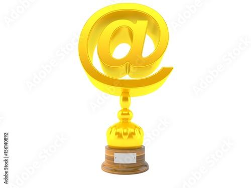 Foto op Canvas E-mail trophy