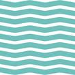 Materiał do szycia Simple modern hand drawn wave pattern