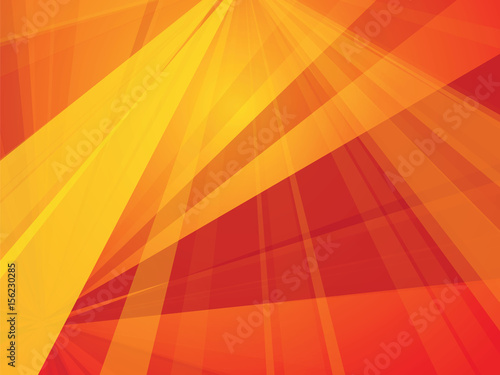 trendy red orange geometric background