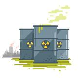 Barrels of Toxic Waste - 156234039