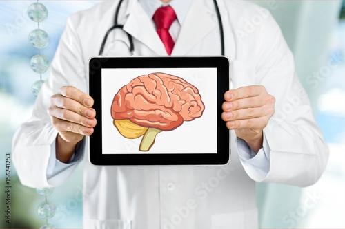Brain. Poster