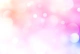 Pink gradient shining blurred bokeh illustration.