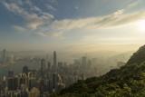 Hong Kong skyline in the morning