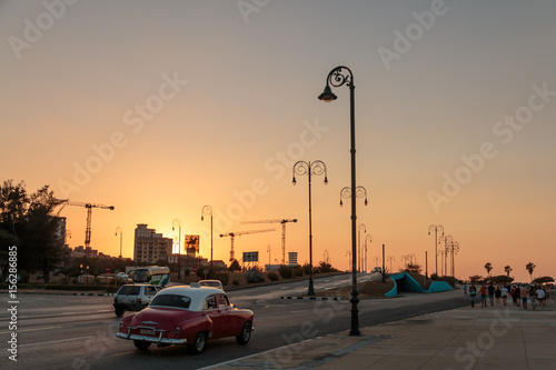 Fotobehang Havana Wunderschönes Havanna, Kuba