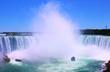 Niagara falls. Horseshoe Falls, the Canadian side of Niagara Falls.