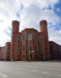 Sąd okręgowy we Wrocławiu - widok od rogu, skrzyżowania