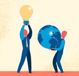 Idee per il futuro del pianeta - 156314673