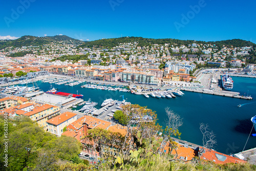 Nice harbour, French Riviera