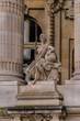 Detail of the facade of the Grand Palais (1900), France, Paris.